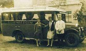 Geschiedenis eerste bus