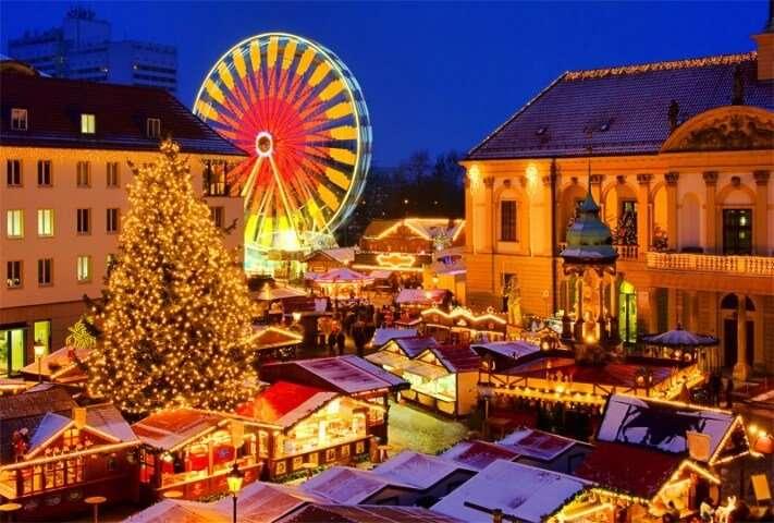 Busreis naar Bremen kerstmarkt