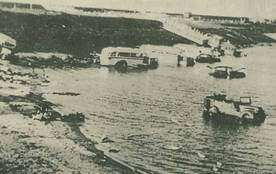geschiedenis bussen in water