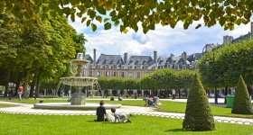 Parijs: Plece des Vosges