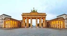 Duitsland Berlijn Brandenburger tor