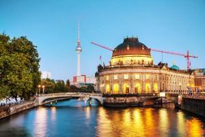 Duitsland Berlijn gracht