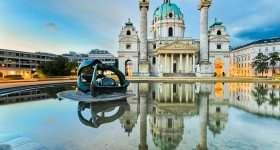 Oostenrijk Wenen Karlskirche