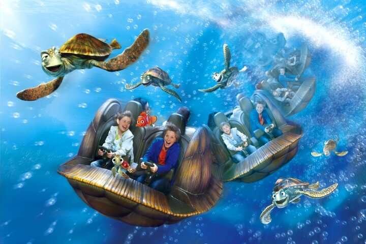 Busverhuur voor personeelsfeest: Onderwater in Disneyland Parijs