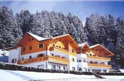 Wintersport Italië, overnachten in Hotel Larch
