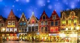 Belgie Brugge Markt