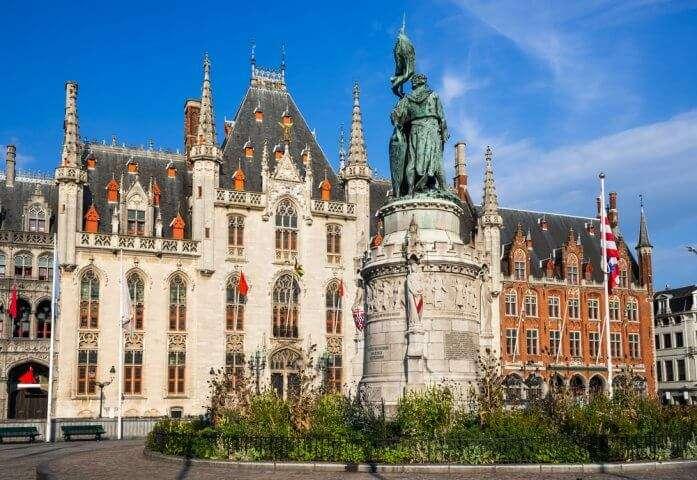 Stadhuis in Brugge, België