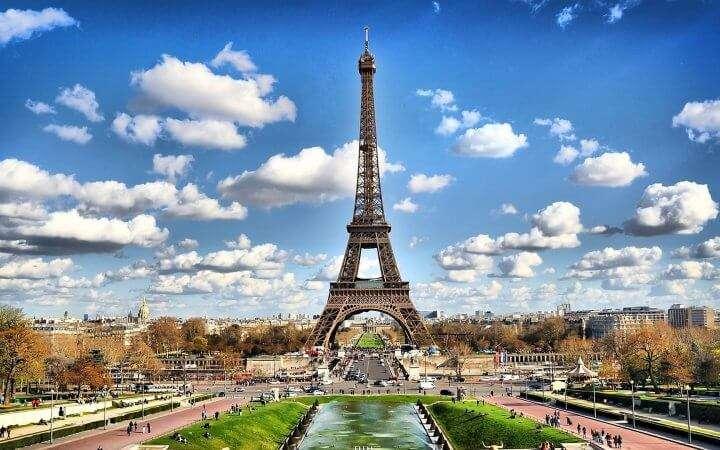 Busreis Frankrijk: Parijs Eiffeltoren