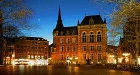 Duitsland Oldenburg Rathaus Marktplatz