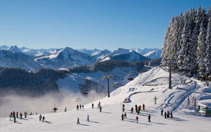 Oostenrijk piste