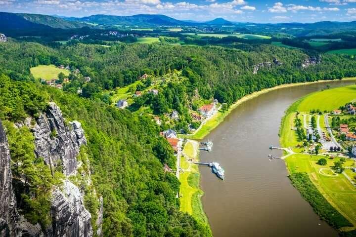 Duitsland Dresden Sakische Schweiz
