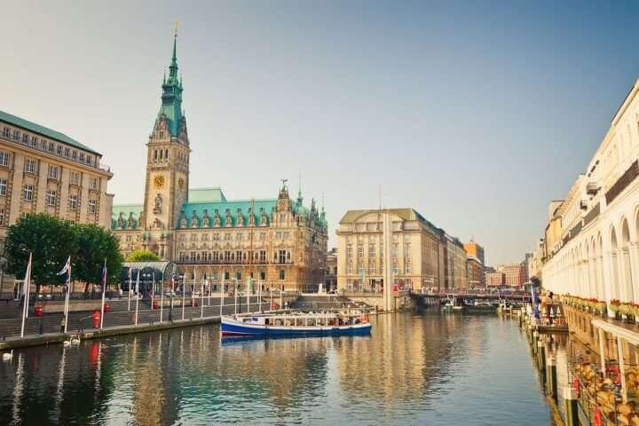 Duitsland Hamburg Stadhuis