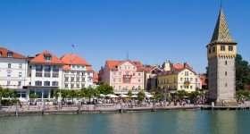 Duitsland Lindau havenzicht