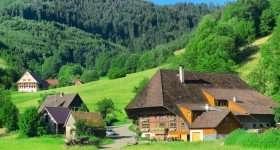 Duitsland Zwarte Woud boerderij