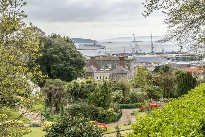 Engeland Guernsey Candie Garden