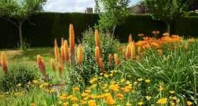 Engeland Penhurst Place bloemen