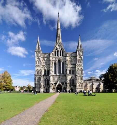 Engeland Salisbury kathedraal