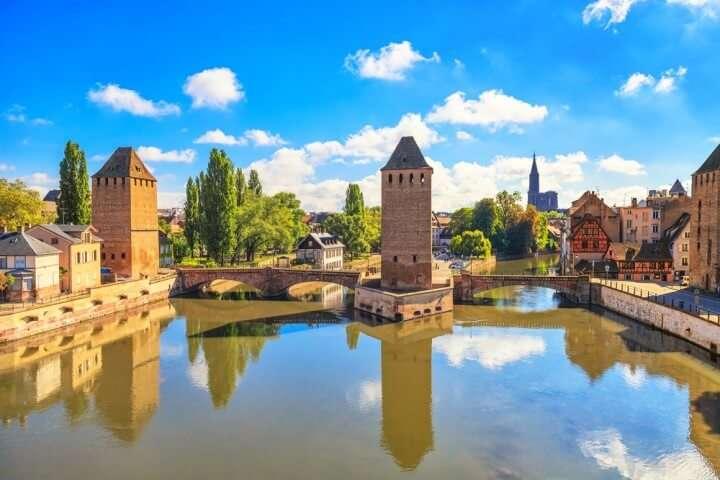 Frankrijk Straatsburg oude brug