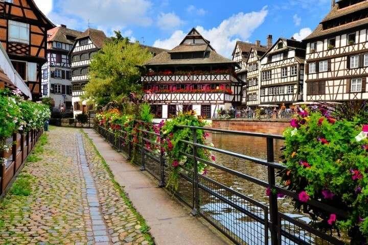 Frankrijk Straatsburg oude centrum