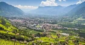 Italie Merano Zuid Tirol dal