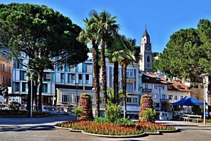 Italie Merano stadscentrum