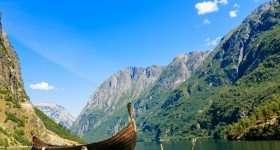 Noorwegen Sognefjord met boot