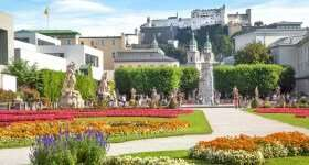 Stedentrip Salzburg (Oostenrijk) Mirabelltuin