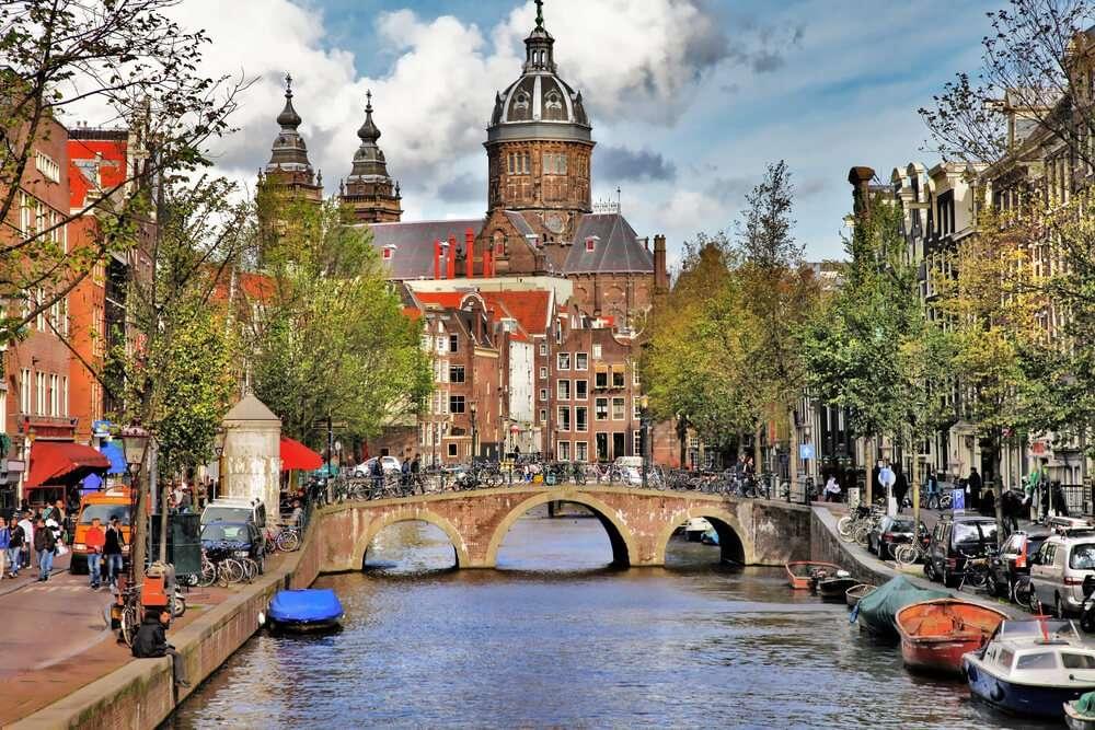 Nederland Amsterdam gracht