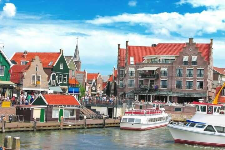Nederland Volendam haven