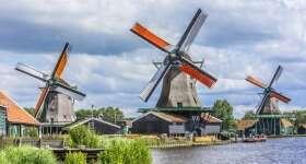 Nederland Zaanse Schans 3 molens