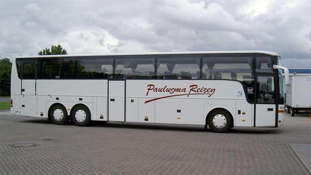 Rolstoelvriendelijke bus de 'Muzefalk'
