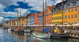 Denemarken Kopenhagen Nyhavn