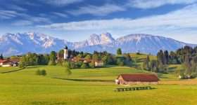 Duitsland Beieren landschap