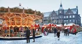 Duitsland Dusseldorf Weihnachtsmarkt
