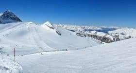 Oostenrijk wintersport panorama