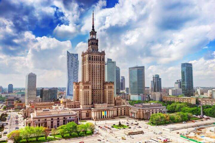 Polen Warschau Science center