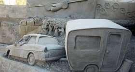 Garderen Zandsculpturen