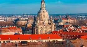 Duitsland Dresden Frauenkirche