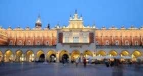 Polen Krakau markt