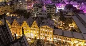 Duitsland Osnabrück kerstmarkt
