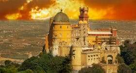 Portugal Lissabon Palace da Plena Sintra