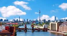 Duitsland Berlin skyline