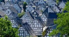 Duitsland Sauerland vakwerkhuizen