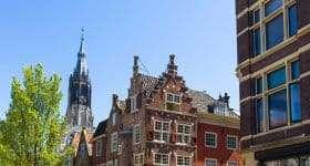 Nederland Delft kerk