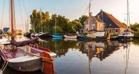 Nederland Friesland boerderij