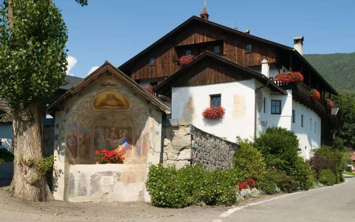 Oostenrijk Tirol Nauders kapel