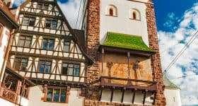 Duitsland Zwarte Woud Schwabentor Freiburg