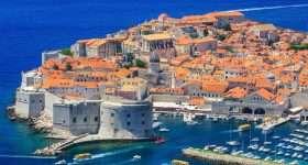 Kroatie Dubrovnik haven 1