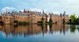 Nederland Den Haag Hofvijver 1
