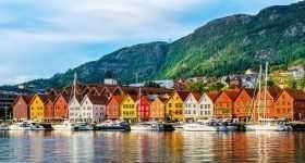 Noorwegen Bergen Haven